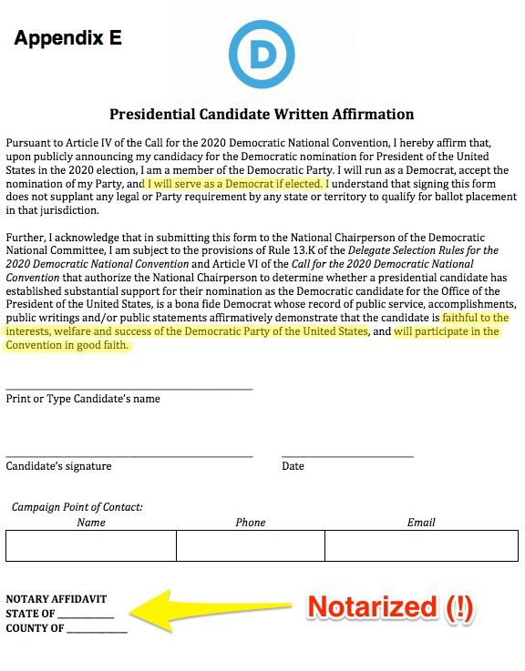 Demexit: Abandonment of